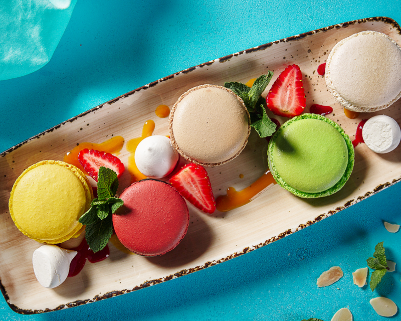 Десерт «Макарони»