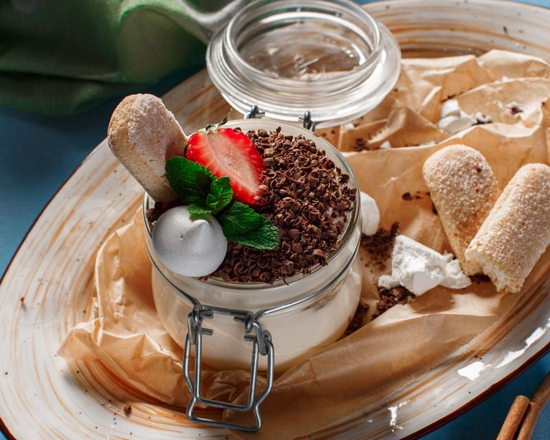 Десерт «Тирамису с шоколадом»