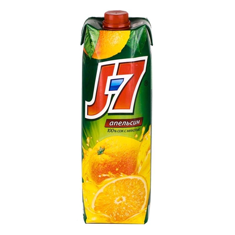 Сок апельсиновый 0,970 л Дж7